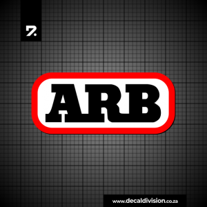ARB Accessories Logo Sticker