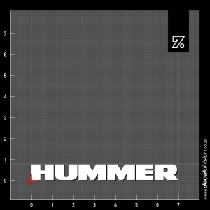 Hummer Logo Sticker