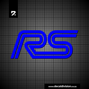 Ford Focus RS Logo Sticker