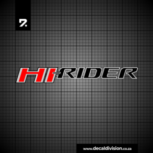 Ford Ranger Hi-Rider Sticker
