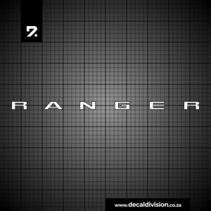 Ford Ranger Tailgate Sticker