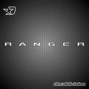 Ford Ranger 4x4 Sticker