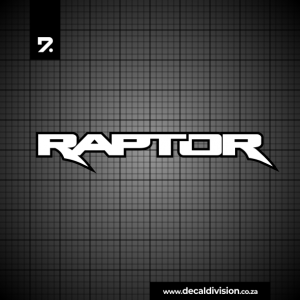 Ford Raptor Logo Sticker