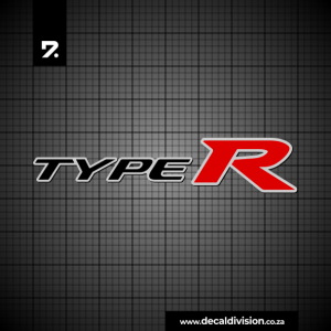 Honda Civic Type R Stickers