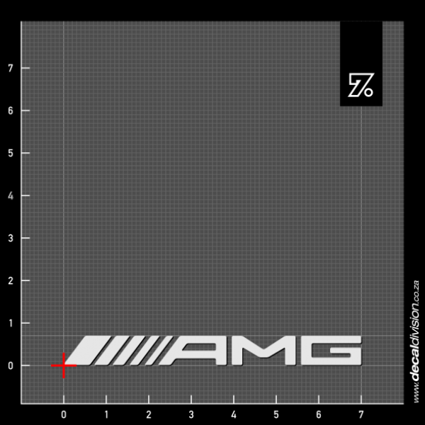 Mercedes benz amg logo sticker for Mercedes benz amg logo