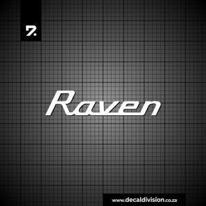 Robinson Helicopter Raven Sticker