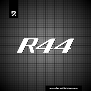 Robinson R44 Helicopter Sticker Set