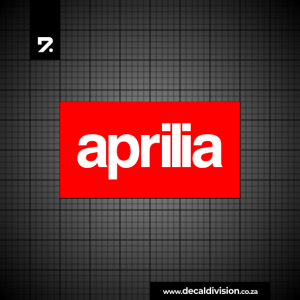 Aprilia Logo Sticker