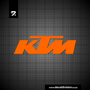 KTM Logo Sticker
