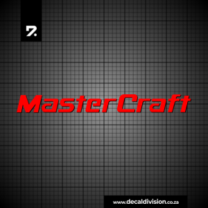MasterCraft Boat Logo Sticker