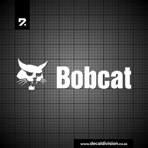 Bobcat Logo Sticker