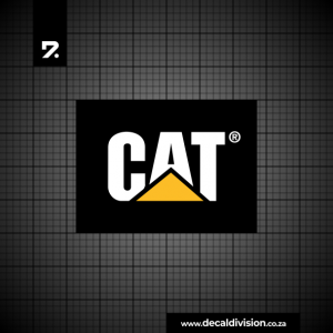 CAT Logo Sticker