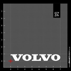 Volvo Logo Sticker