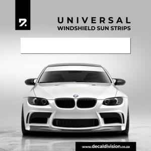 Windshield Sunstrip Decal