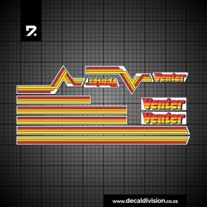 Venter Trailer Sticker Kit