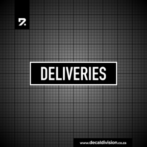 Office Sign - Deliveries