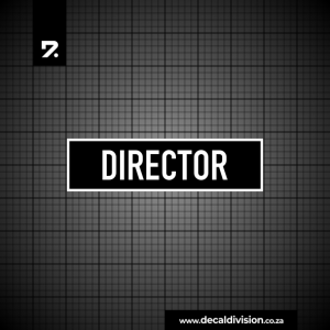 Office Sign - Director