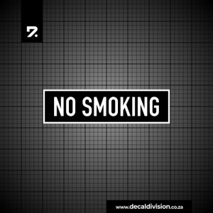 Office Sign - No Smoking