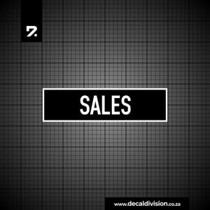 Office Sign - Sales
