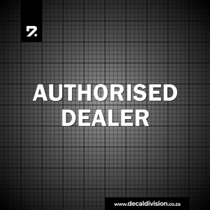 Authorised Dealer Sticker