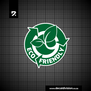 Eco-Friendly Logo Sticker
