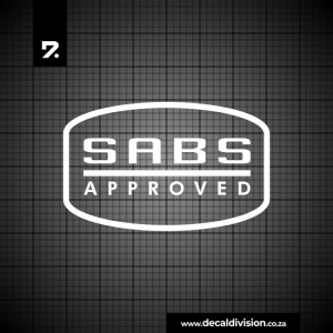 SABS Approved Sticker