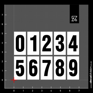 Vehicle Pricing Number Boards