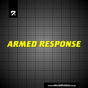 Armed Response Stickers Set