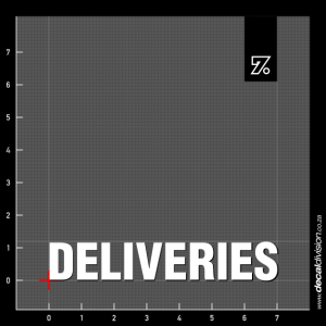 Deliveries Sticker
