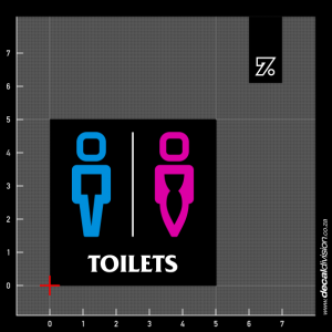 Toilets Sign B