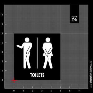 Toilets Sign C