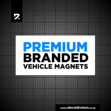Branded Vehicle Magnet Set