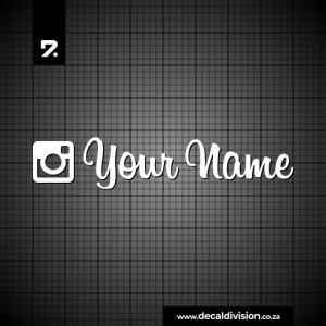 Instagram Username Sticker