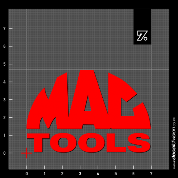 Mac Tools Logo Sticker