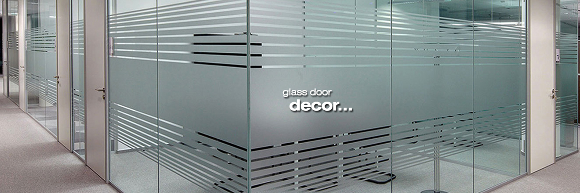 Glass Door Decor