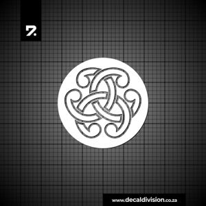 Glass Window Sticker - Celtic Knot