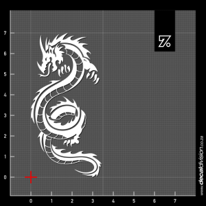 Smaug Dragon Sticker