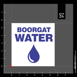 Boorgat Water Sign