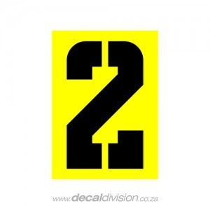 House Number 2 Sticker