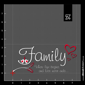 Wall Quote - Family