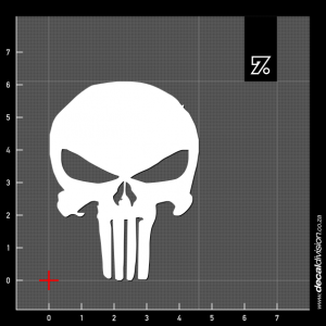 The Punisher Logo Sticker