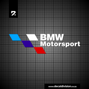 BMW Motorsport Logo Sticker