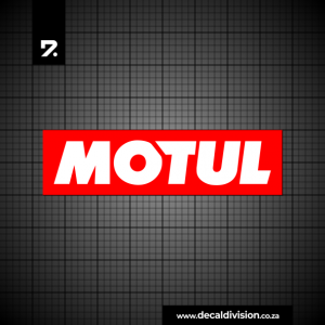 Motul Motor Oil Logo Sticker