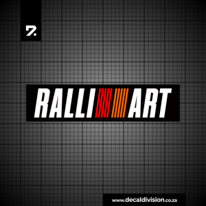 Ralli Art Logo Sticker