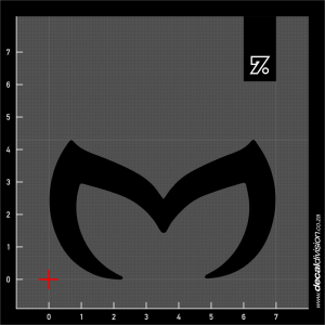 Mazda Logo Sticker - BAT