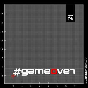 Revo Technik Gameover Sticker