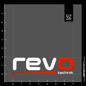 Revo Technik Logo Sticker