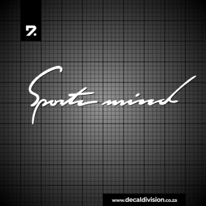 Sportsmind Performance Sticker
