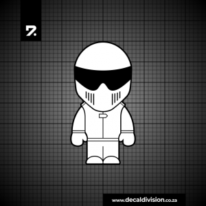 The Stig Logo Sticker