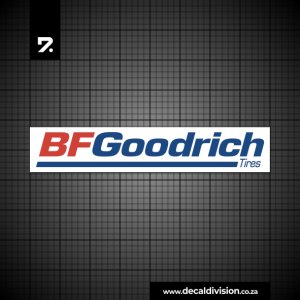 BF Goodrich Tyres Logo Sticker